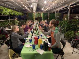 Expressions of Nature Art class at Cozyn's by Vanessa De Groot from Kind-heARTed Studio
