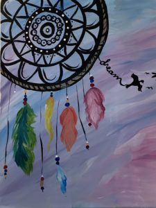 Beer and Paint Paint Night at Kind-heARTed Studio with Vanessa De Groot