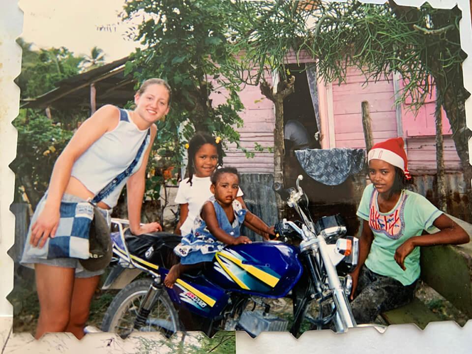Vanessa DeGroot in the Dominican Republic